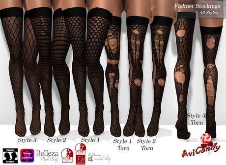 AVICANDY Fishnet Style - Fat Pack