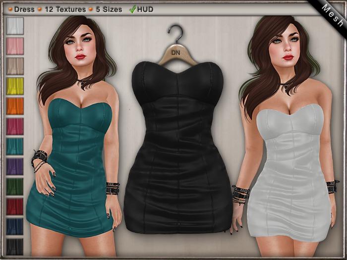 DN Mesh - Nora Dress w HUD
