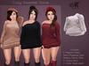 *MUKA* Cozy Sweater Snow (Belleza Venus & Slink Physique)