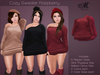 *MUKA* Cozy Sweater Raspberry (Belleza Venus & Slink Physique)