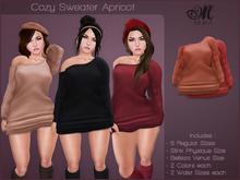 *MUKA* Cozy Sweater Apricot (Belleza Venus & Slink Physique)
