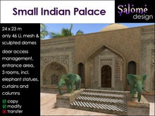 Small Indian Palace Sales Box
