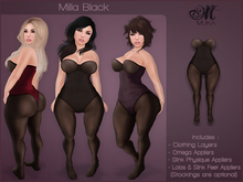 *MUKA* Milla Black (Omega & Slink Physique)