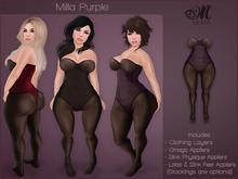 *MUKA* Milla Purple (Omega & Slink Physique)