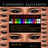 MAKEUP EYELINERS COLORABLES  !!PROMO!!