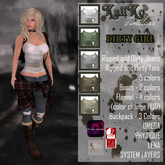 {KT} Dirty Girl Outfit