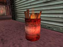 DO Burning Barrel - Mesh - NEW!  1LI