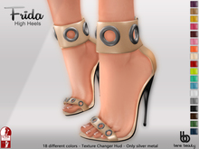 Bens Boutique - Frida High Heels (Slink High) - With HUD