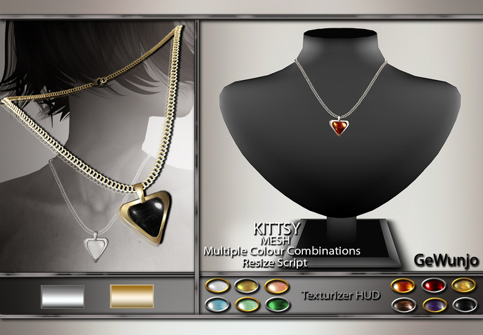 GeWunjo : KITTSY necklace