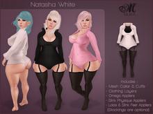 *MUKA* Natasha White (Omega & Slink Physique)