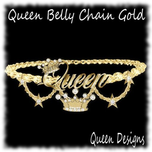 Queen Belly Chain Gold
