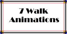 7 Walk Animations -box-