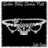 Queen Belly Chain Plat
