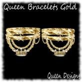 Queen Bracelets Gold