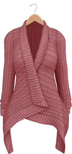 Blueberry - Dawnee - Maitreya Lara & Belleza Venus & Slink Physique Compatible - Sweater Cardigans Pink