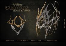 . a i s l i n g . Sumiana Crown&Collar -SILVER-