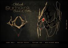 . a i s l i n g . Sumiana Crown&Collar -BLACK-