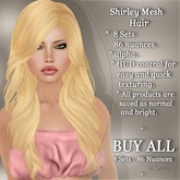 !SOUL - HAIR Mesh - Shirley - BUY ALL - 8 Colors- 96 Nuances