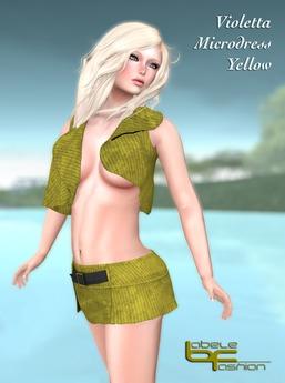 Babele Fashion :: Violetta Microdress Yellow