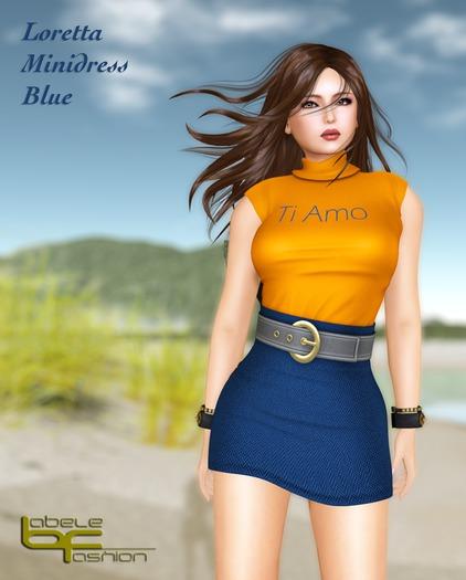 Babele Fashion :: Loretta Minidress Blue