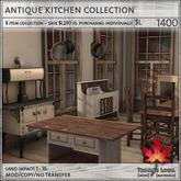 Trompe Loeil - Antique Kitchen Collection Full [mesh]