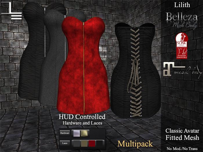 DE Designs - Lilith - Fabrics Multipack