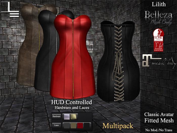 DE Designs - Lilith - Leathers Multipack