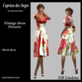 *CdT*  Vintage dress flowers