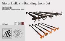 *AF* Stony Hollow - Branding Iron Set