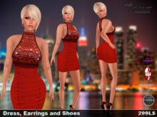 Sweet Temptations :: Forever Outfit (Lolas Tango Clothes, Omega Applier, Slink Shoes)