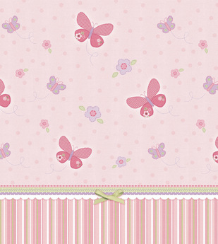 Second Life Marketplace Pink Butterfly Wallpaper