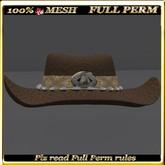 LW_ Cow Girl Hat - Full Perm 1