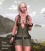 Babele Fashion :: Zipp Minidress Green