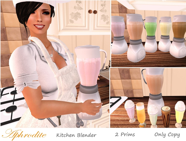 Kitchen blender: delivers 8 different shakes & milkshakes