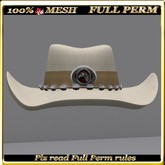 LW_ Mesh Cowboy Hat - Full Perm 5