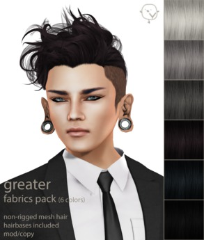 Yasyn - Greater - Fabrics Pack