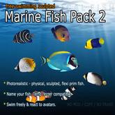 海洋魚 - パック2(フリースイミング)
