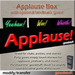Applause Box with optional landmark giver by goodstuff.