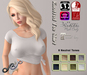 Sky~ Knotted T-shirt Fat Pack 8 Colors