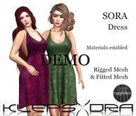 Klepsydra - Sora Dress - DEMO