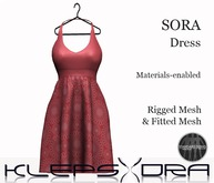 Klepsydra - Sora Dress - Rose