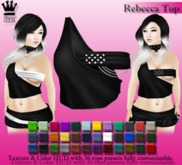[Syn] Rebecca Top (Texture & Color HUD, materials enabled)