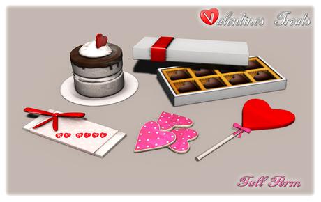 {XO} Full Perm Valentines Treats ~Free