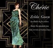 Cherie ~ Zelda Gown - Sage