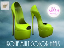 [IF] Ixone Multicolor Heels for The Mesh Project