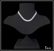 Zee Shaped chain - silver