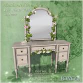 "[CIRCA] - ""Enchanted Meadow"" - Fae Vanity Table - Ivory"