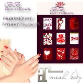 BeautyBrazil FingerNail valentine's day Maitreya