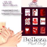 BeautyBrazil FingerNail valentine's day Belleza