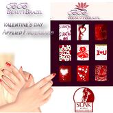 BeautyBrazil FingerNail valentine's day Slink